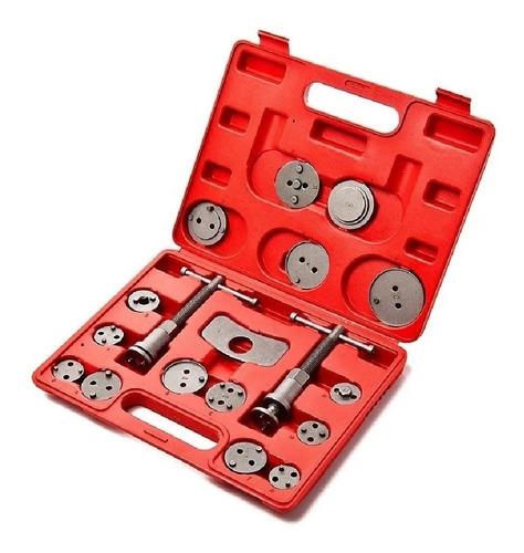 Kit Compresor Extractor Prensa Caliper Freno Auto 18 Piezas Comprimidor Black