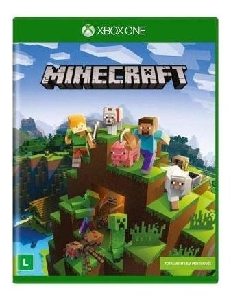 Minecraft Xbox One - Mídia Física - Novo - Lacrado
