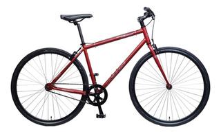Bicicleta Urbana Khs Urban Soul Rodado 28 Fixie Acero Livian