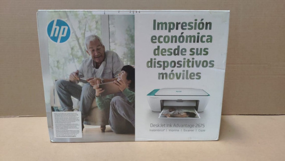 Multifuncional Hp Deskjet Ink Advantage 2675 Reembalado