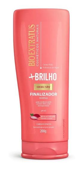 Finalizador Bio Extratus +brilho Cacau Ruby 200g