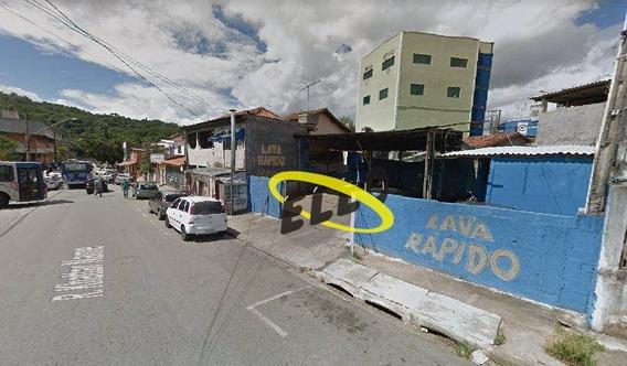 Terreno Comercial Em Frente Ao Terminal De Ônibus De Cotia E - Te0827