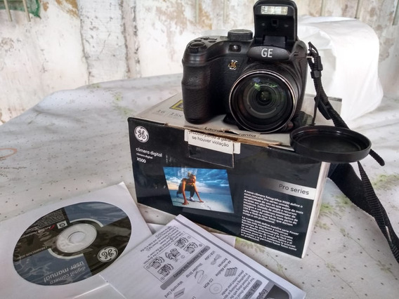 Câmera Digital Ge X500 16mp Sd 1gb