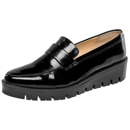Zapato Casual Mujer Been Class Negr/char 62878 Env Inmediato