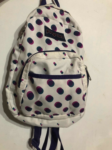 Mochila Mini Jansport Original Impecable