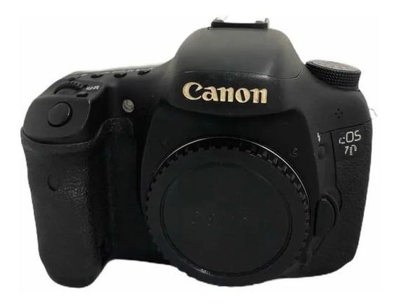 Camera Canon 7d Dslr (corpo) + Nota Fiscal+ Garantia