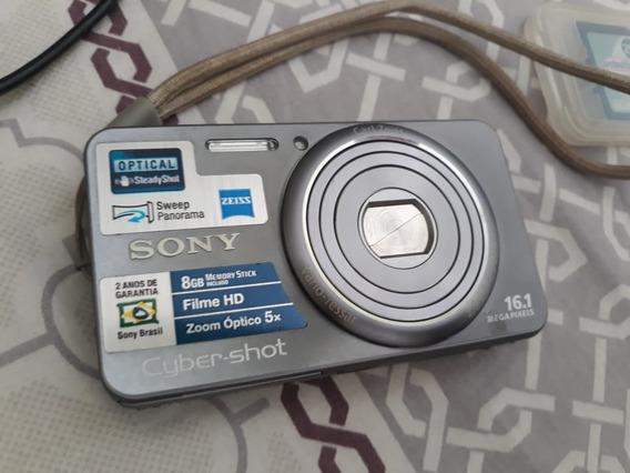 Câmera Máquina Fotográfica Sony Cybershoot Dsc-w570 16.1