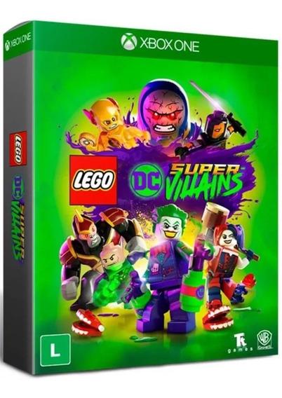 Jogo Lego Dc Super Villains Ed. Especial Xbox One