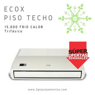 Aire Acondicionado Marca Ecox Piso Techo 15000 Frío Calor