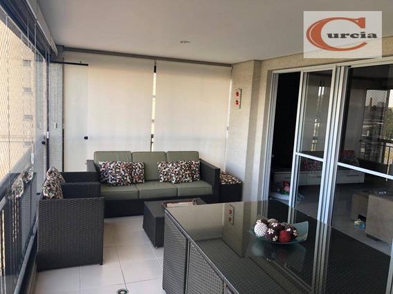 Apartamento Com 3 Dormitórios À Venda, 140 M² Por R$ 1.300.000 - Vila Guarani(zona Sul) - São Paulo/sp - Ap5713