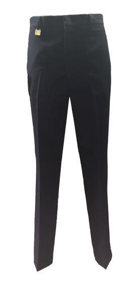 Pantalón De Vestir Recto Marino De Hombre