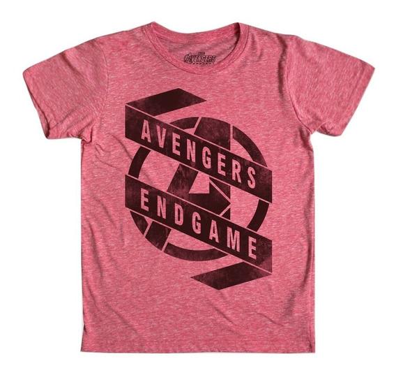 Playera Endgame Mascara De Latex Avengers