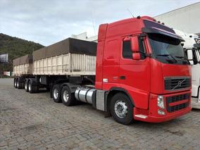Entrada R$ 7.180,00 Volvo Fh12 460 6x2 I-shift 2012 + Bitrem