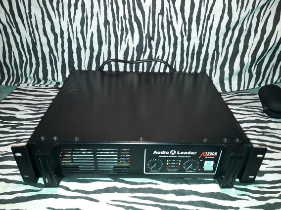 Amplificador De Potencia Audio Leader 1200 S