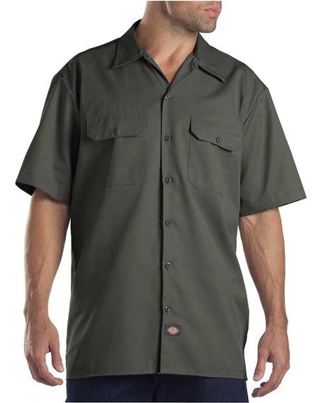 Dickies 1574 Camisa Camisola Trabajo Manga Corta S-xxl