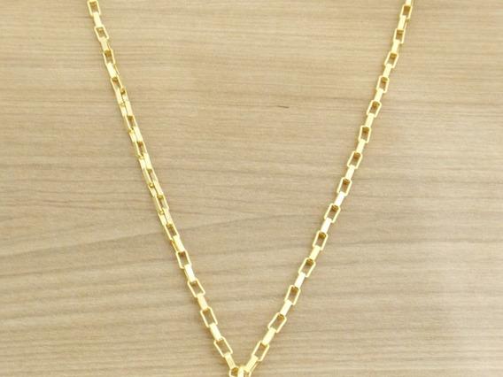 Lindo Cordao Corrente Cartie 60cm Masculina Banhado Ouro 18k