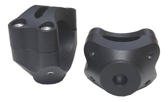 Adaptador Original Guidão Oxxy Base Plana M10 (preto)