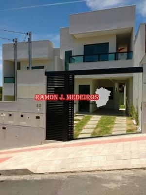 Casa 3qts 3wcs 3vgs Bairro Jaqueline Em Belo Horizonte-mg