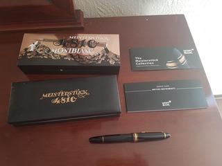 Boligrafo Mont Blanc Meistertuck Edición Especial 4810 Nueva