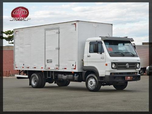Imagem 1 de 15 de Caminhão Vw Delivery 10.160 4x2 Com Baú