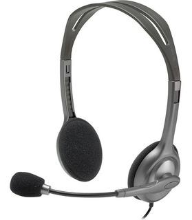 Auriculares Headset Logitech H111 Con Microf - 1 Plug