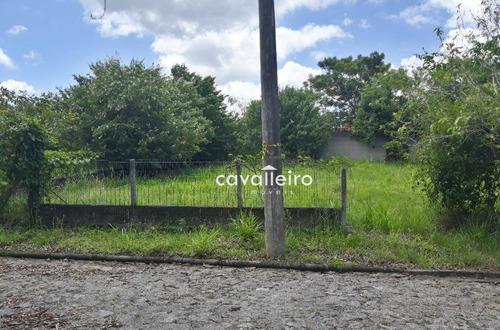 Condomínio Ubatâ, Terreno À Venda, 360 M²  - Caxito - Maricá/rj - Te1068