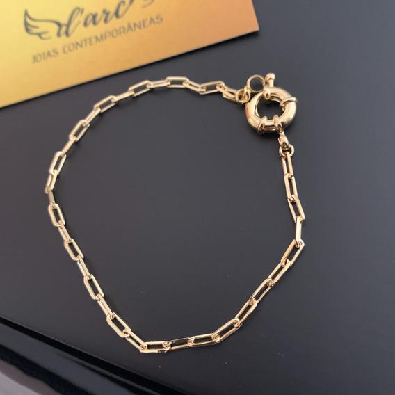Pulseira Cartier Banhada Ouro Feminino Garantia 1 Ano