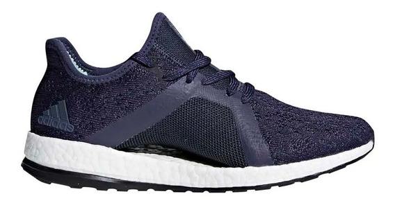 Tenis adidas Pureboost X Element - Runners - Azul - Mujer