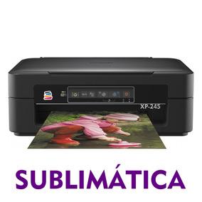 Multifuncional Epson Xp-245 Com Bulk Ink - Tinta Sublimática