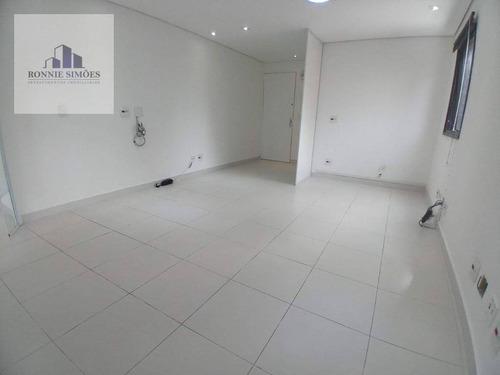 Sala Para Alugar Em Moema, 2 Salas Amplas, 2 Banheiros, Ar Condicionado, 42 M², São Paulo. - Sa0476