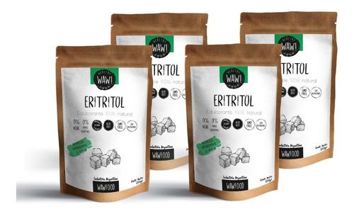 Eritritol X4u | Edulcorante 100% Natural | 0% Índ Glucémico