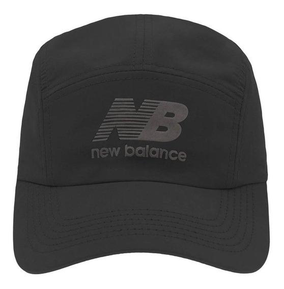 Boné New Balance Nb31368pt Five Panel Preto Masculino