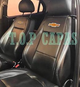 Capa Banco Carro 100% Couro Montana 2002 A 2019 + Brinde