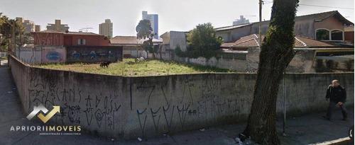 Terreno Para Alugar, 925 M² Por R$ 14.500/mês - Jardim - Santo André/sp - Te0065
