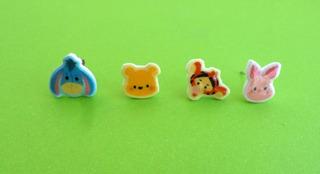 Aritos Kawaii Disney Winnie The Pooh Tigger Piglet Unicos!