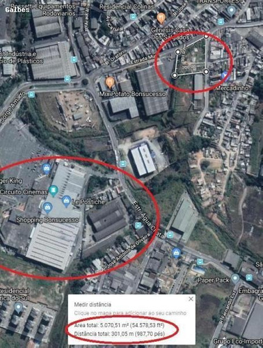 Área Para Venda Em Guarulhos, Água Chata - 2000/2321_1-1198489