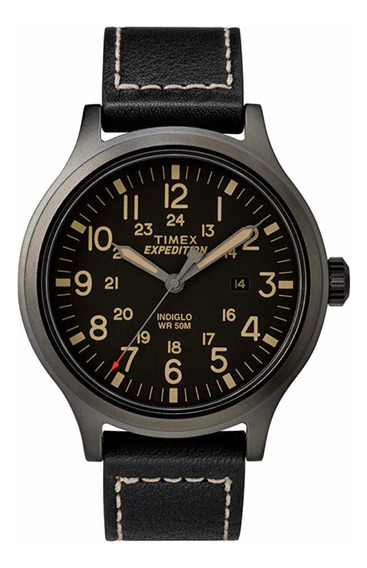 Timex Expedition Scout 43mm Nuevo Color Negro