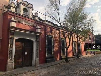 Casa Estilo Colonial En San Ángel