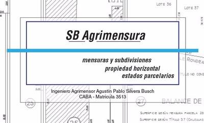 Agrimensor - Servicios De Agrimensura - Ph Est. Parcelarios
