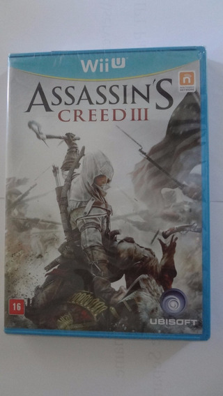 Assassins Creed 3 Nintendo Wii U Novo E Lacrado