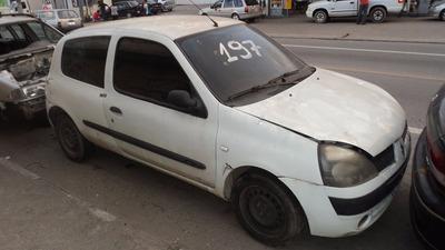 Renault Clio Autentic 2 Porta(sucata Para Retirada De Peças)