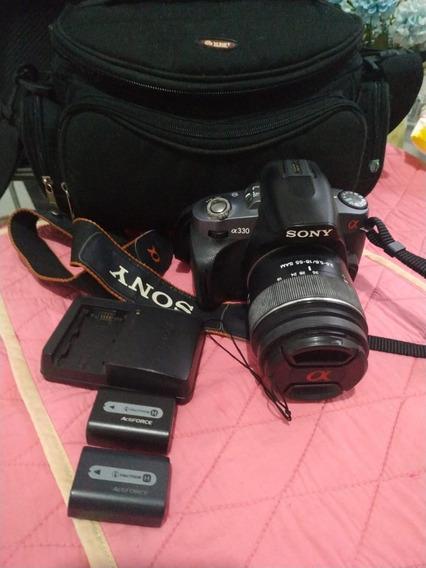 Câmera Profissional Dslr Sony Alfa A-330
