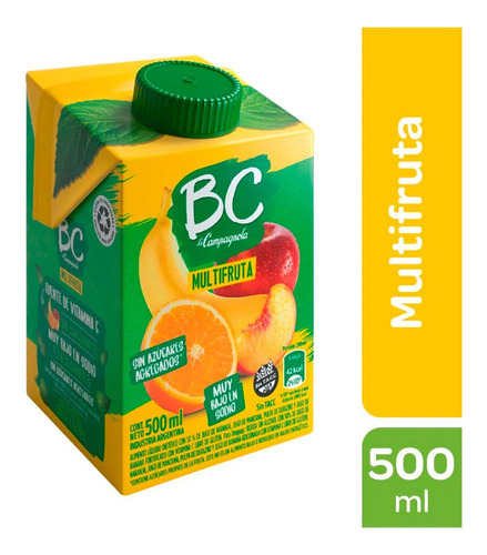 Jugo Bc Multifruta La Campagnola 500 Ml