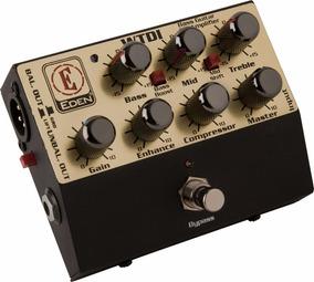 Pedal Eden Wtdi Pre Amp Bass Baixo - C/fonte Original E Nota