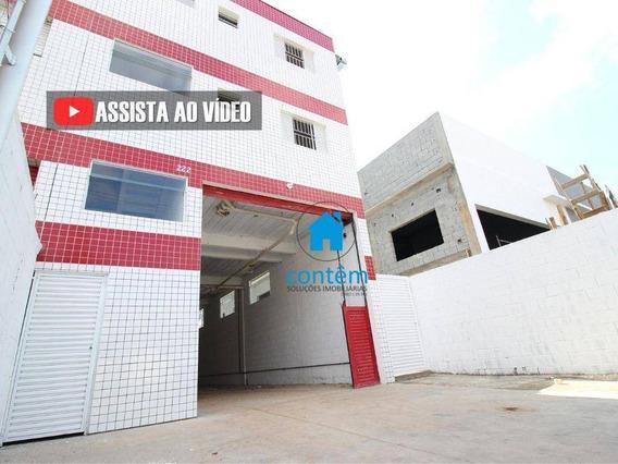 Ga0025 - Galpão Para Alugar, 200 M² Por R$ 3.500/mês - Caputera - Cotia/sp - Ga0025