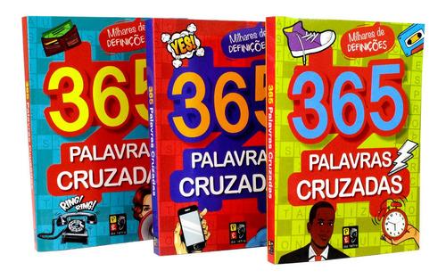 Kit 365 Palavras Cruzadas - 3 Livros | Melhor Preço