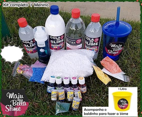 Kit Completo Para Fazer Slimes Da Maju Bella Slime