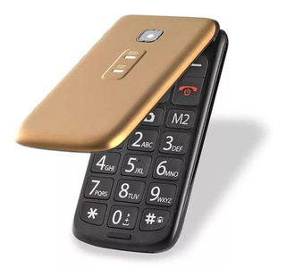 Celular Flip Vita Dourado Dual Chip Quadriband P9043 Multila