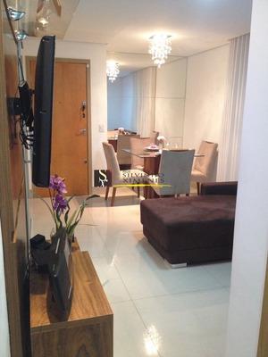 Apartamento Com 3 Quartos Para Comprar No Santa Cruz Em Belo Horizonte/mg - 6091
