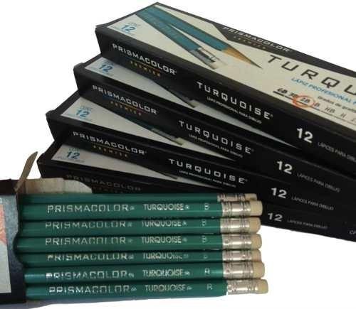 Lapiz De Dibujo Profesional Turquoise 2b, B, H, 2h *24unid